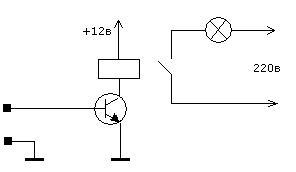 Драйвер для мощной нагрузки на транзисторе