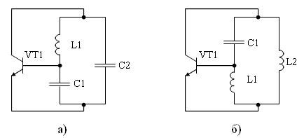 Автогенератор lc схема