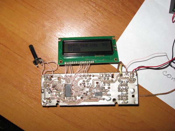 синтезатор на si570 для простого трансивера